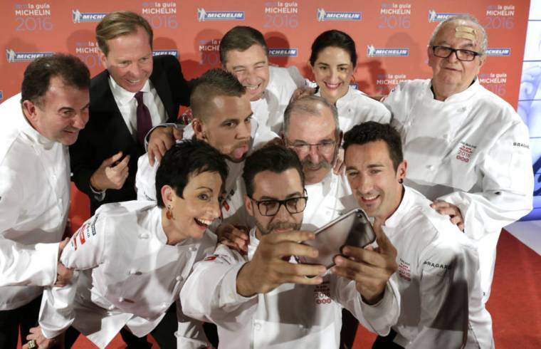Selfie Famosos Cocineros